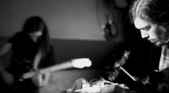 Barn Owl + Jefre Cantu-Ledesma – Sonic (Lyon), 21/05/11