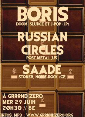 Russian Circles & Boris au Grrrnd ce soir