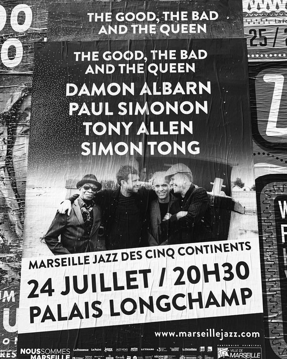 The Good, The Bad And The Queen / Palais Longchamp, Marseille (24/07/2019)