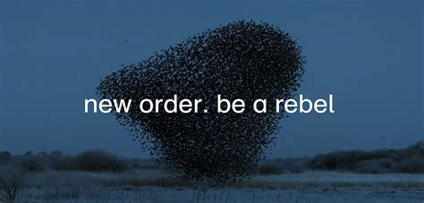New Order – «Be a Rebel»