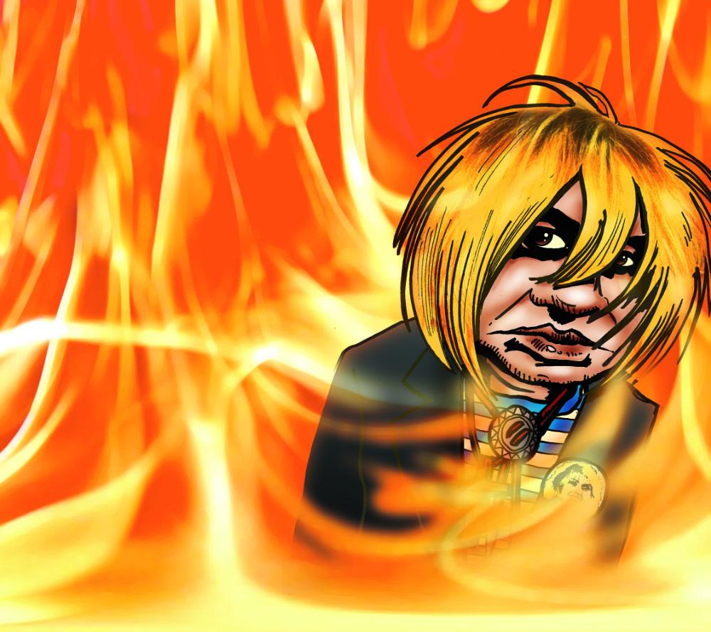 Dessin Jeffrey in Hell