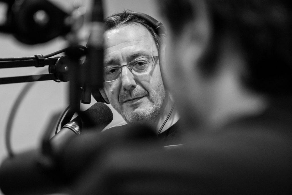 Portrait d'André Paldacci à la radio