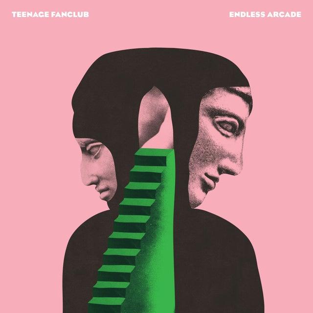pochette de l'album du Teenage Fanclub , Endless Arcade.